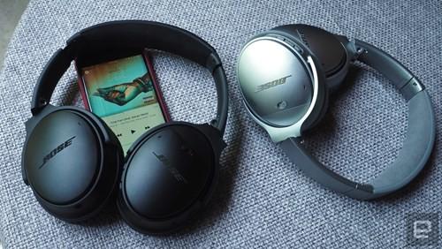 Cận cảnh tai nghe không dây Bose QuietComfort 35 ảnh 1