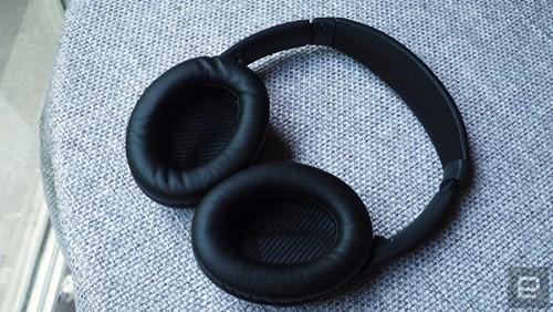 Cận cảnh tai nghe không dây Bose QuietComfort 35 ảnh 4