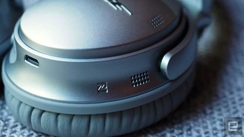 Cận cảnh tai nghe không dây Bose QuietComfort 35 ảnh 10