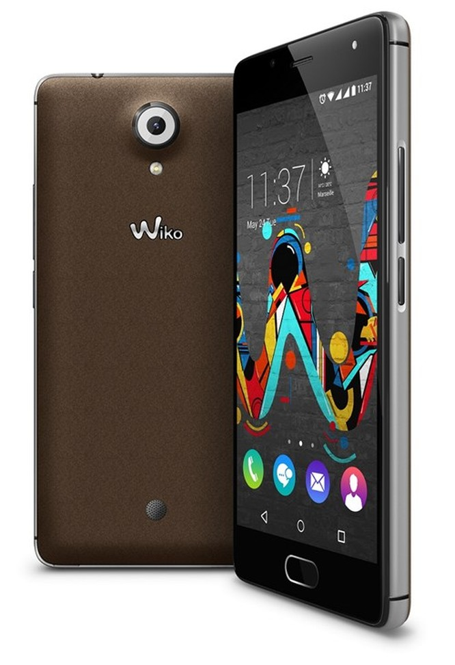 Wiko ra mắt loạt smartphone vỏ kim loại mới ảnh 1