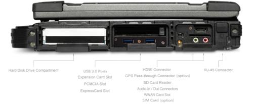 Getac B300 - laptop siêu bền chạy bộ xử lý Skylake ảnh 5