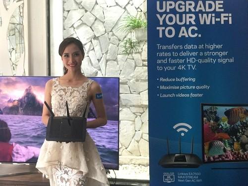 Linksys giới thiệu router không dây EA7500 hỗ trợ nội dung 4K ảnh 1
