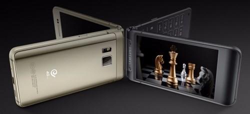 Samsung sắp tung ra smartphone nắp gập ảnh 1