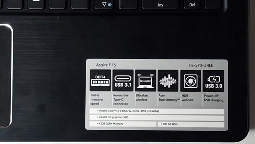 Acer Aspire F5 phiên bản 2016 – Định nghĩa mới cho laptop sinh viên ảnh 2