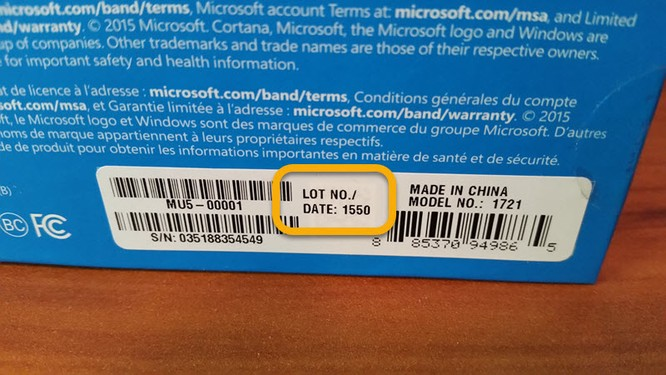 Vài mẫu Microsoft Band 2 có thiết kế bền hơn? ảnh 1