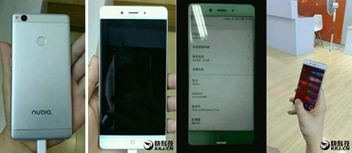 Smartphone không viền ZTE Nubia Z11 lộ diện ảnh 1