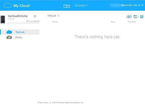 Đánh giá ổ cứng mạng WD My Cloud EX2 Ultra ảnh 3