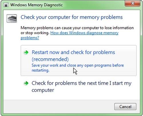 Thủ thuật định nhanh bệnh của bộ nhớ RAM ảnh 1