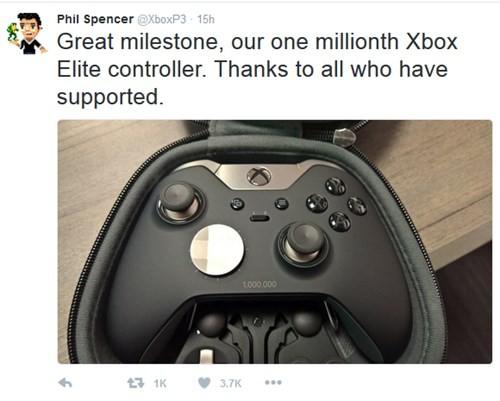 Xbox Elite Wireless Controller chạm mốc 1 triệu sản phẩm ảnh 1