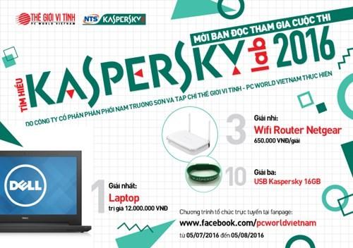 Khởi động Cuộc thi Tìm hiểu Kaspersky 2016 ảnh 1