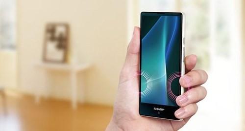 Thêm smartphone viền màn hình siêu mỏng từ Sharp ảnh 2