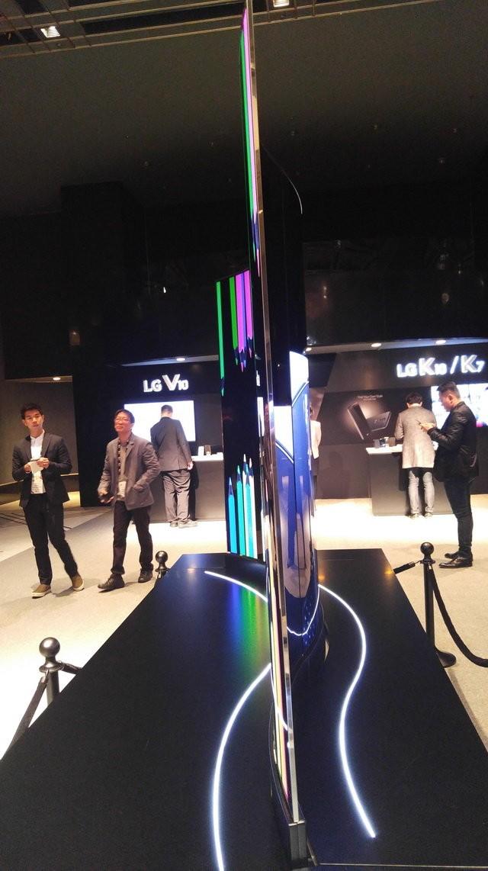 Tivi màn hình cong uốn lượn tại LG InnoFest 2016 ảnh 4