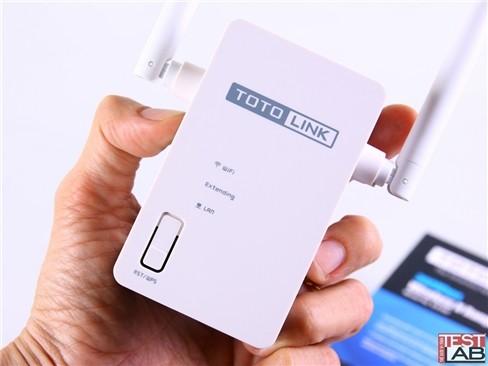 Đánh giá thiết bị mở rộng Wi-Fi TOTOLINK EX300 ảnh 1