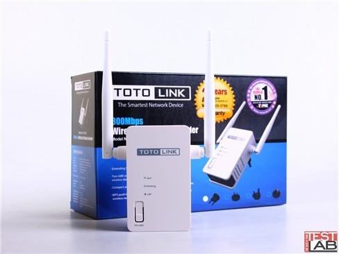 Đánh giá thiết bị mở rộng Wi-Fi TOTOLINK EX300 ảnh 7