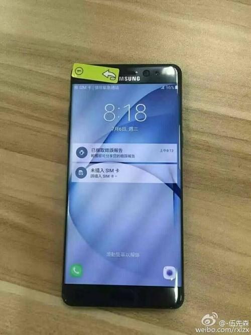 Chiêm ngưỡng loạt ảnh 'cực nét' của Galaxy Note 7 ảnh 1