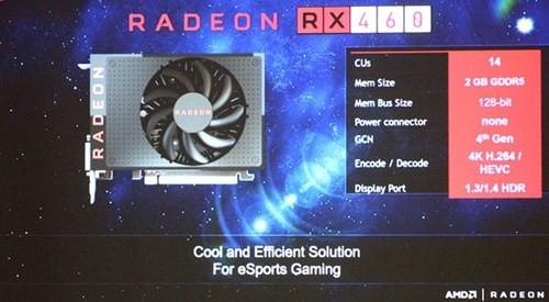 Hé lộ card đồ họa phổ thông AMD RX 470 và RX 460 ảnh 2