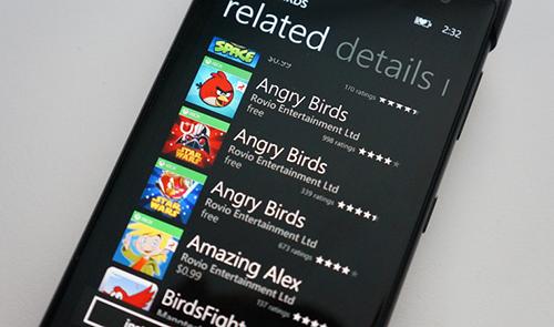 Angry Birds quay lưng với thiết bị Windows ảnh 1