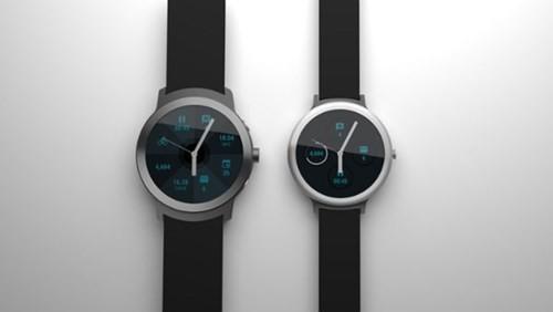 Bộ đôi smartwatch chạy Android Wear của Google ảnh 1