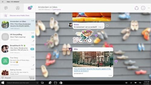 Viber cho Windows 10 có mặt trên Windows Store ảnh 1