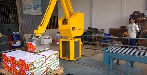 Robot bốc xếp hàng lên pallet ảnh 2