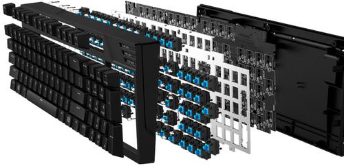 Cooler Master ra mắt bàn phím cơ với LED siêu sáng ảnh 4