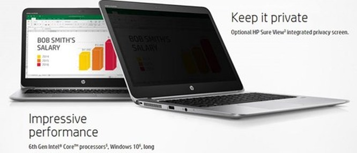 HP ra mắt laptop EliteBook chống nhìn trộm ảnh 1