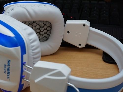 Cận cảnh tai nghe chuyên game SoundMax A-312 ảnh 3
