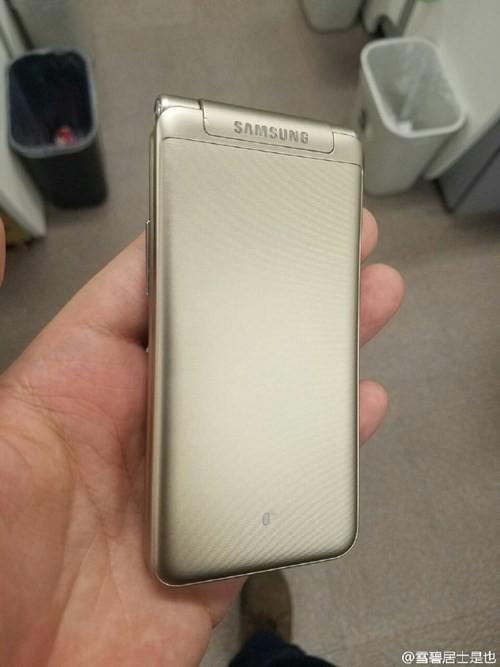 Lộ ảnh thực tế smartphone nắp gập Galaxy Folder 2 ảnh 8