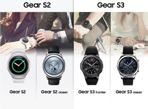 Infographic về sự khác biệt giữa Gear S2 và Gear S3 ảnh 1