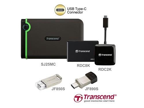 Transcend giới thiệu dòng sản phẩm lưu trữ USB Type-C mới ảnh 1