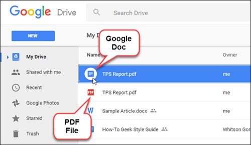 Mách bạn cách chuyển tập tin .PDF thành Google Docs ảnh 2