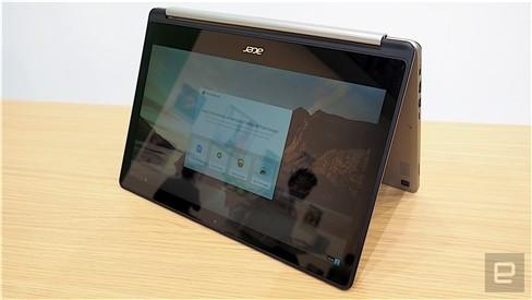 """Xem Acer Chromebook """"làm xiếc"""" xoay 180 độ ảnh 4"""