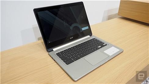 """Xem Acer Chromebook """"làm xiếc"""" xoay 180 độ ảnh 6"""