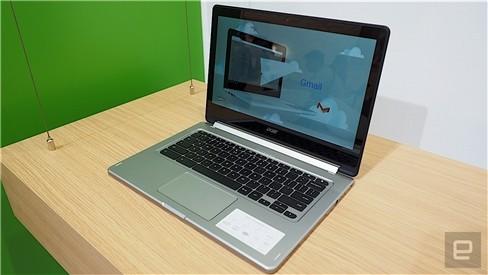 """Xem Acer Chromebook """"làm xiếc"""" xoay 180 độ ảnh 10"""