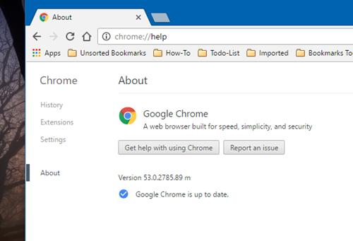 Đã có thể tải về Chrome 53 với giao diện phẳng ảnh 1