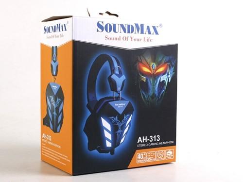 Cận cảnh tai nghe chơi game Soundmax AH-313 ảnh 2