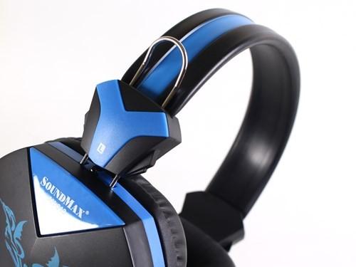 Cận cảnh tai nghe chơi game Soundmax AH-313 ảnh 4