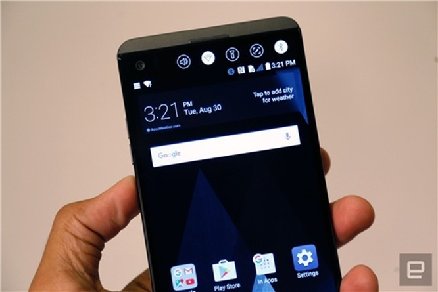 Smartphone camera kép LG V20 chính thức ra mắt ảnh 6