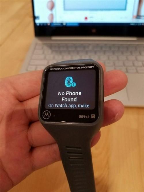 Motorola sắp ra mắt smartwatch mặt vuông ảnh 5