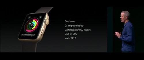 Apple Watch Series 2 chống nước tốt hơn và hỗ trợ GPS ảnh 2