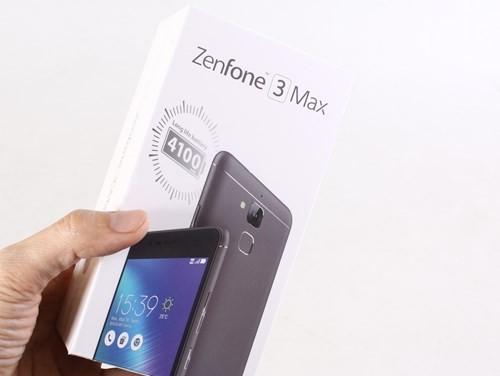 Cận cảnh smartphone Asus ZenFone 3 Max ảnh 1