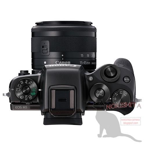 Canon EOS M5 chưa ra mắt đã gây xôn xao ảnh 2