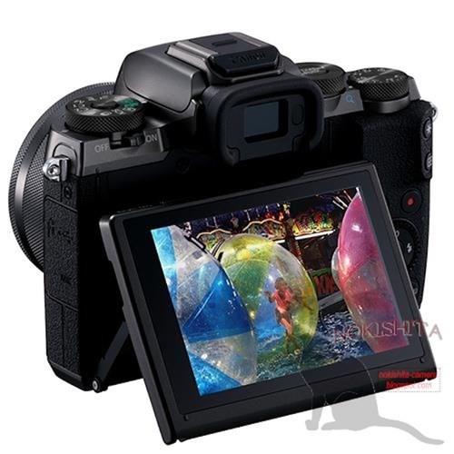 Canon EOS M5 chưa ra mắt đã gây xôn xao ảnh 4