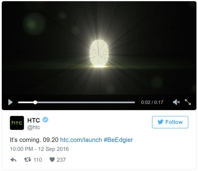 HTC khoe smartphone ra mắt cuối tháng 9 ảnh 1