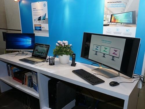 Loạt màn hình siêu mỏng của HP cập bến Việt Nam ảnh 3