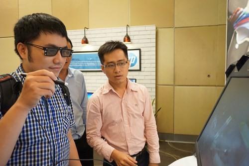 Loạt màn hình siêu mỏng của HP cập bến Việt Nam ảnh 11