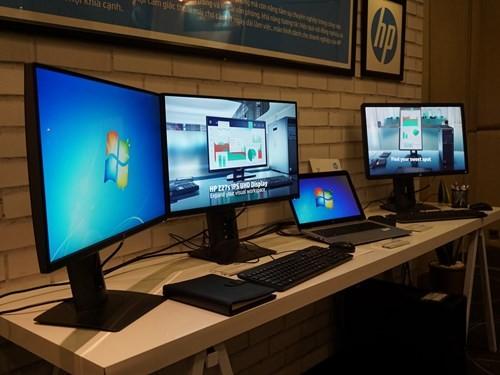 Loạt màn hình siêu mỏng của HP cập bến Việt Nam ảnh 6