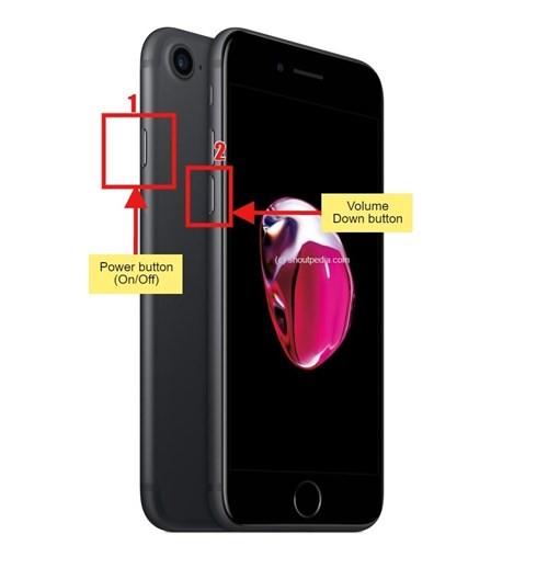Restart iPhone 7 dù không còn nút Home cứng ảnh 1