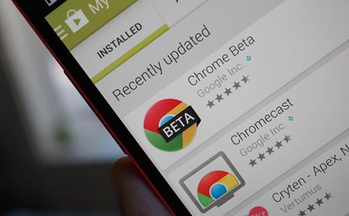 Chrome Beta 54 hỗ trợ YouTube chạy nền ảnh 1