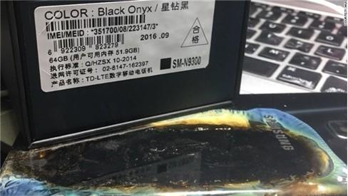 Galaxy Note 7 phiên bản an toàn... vẫn cháy ảnh 1